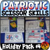 Scissor Skills Patriotic Scissors Practice Cut and Paste N