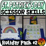 Scissor Skills Saint Patrick's Day Scissors Practice Cut a
