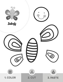 "Scissor Skills Sampler Pack: 5 Color, Cut & Paste ""Craftivities"" for Kids"