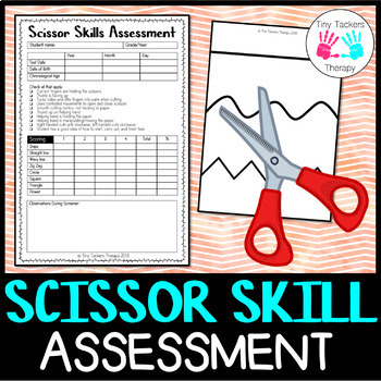 Scissor Skills Screener