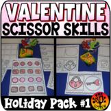 Scissor Skills Valentine's Day Scissors Practice Cut and P