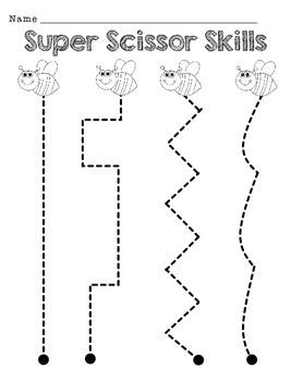 Scissor Skills and Shape Cutting