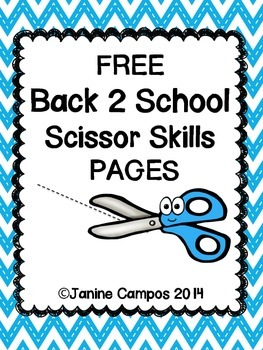 Scissor Skills for Kindergarten and PreSchool