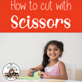 Scissor Skills: teacher book, cutting practice +