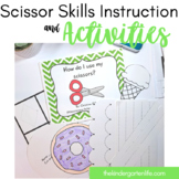 Scissor Skills and Cutting Practice Worksheets
