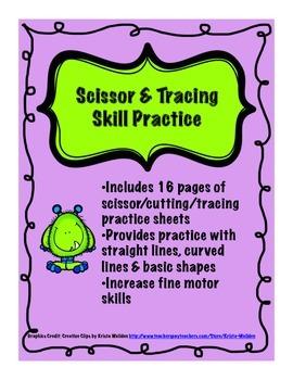 Scissor & Tracing Skill Practice