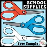 Scissors Clip Art - Free Sample