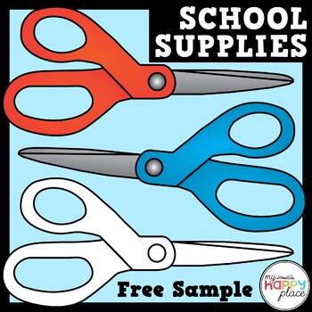 Scissors Clip Art - Free Sample