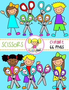 Scissors Clipart {Kids Clipart}