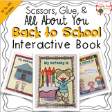 All About Me Book {Interactive} for Back to School