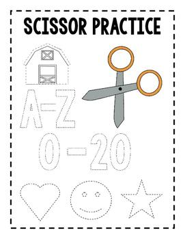 Scissors Practice