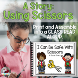 Scissors Safety Social Story