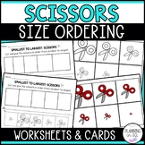 Scissors Size Ordering (From Smallest to Largest)
