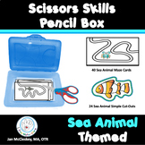 Preschool Pre-K Special Education SCISSORS SKILLS Pencil B