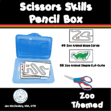 Scissors Skills Pencil Box Zoo Animal Themed Activities