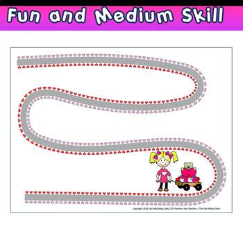 Scissors Skills:  Valentine Kids Crazy Scissors Files