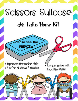 Scissors Suitcase Take Home Activity
