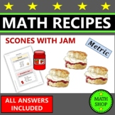 Maths – Recipe for Scones – Proportion – Ratio - Metric