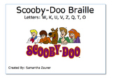 Scooby-Doo Braille Game