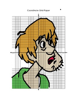 Scooby Doo Coordinate Graphing Bundle!!