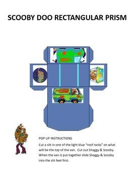 Scooby Doo Coordinate Graphing & Nets Bundle!!!