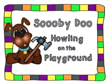 Scooby Doo Howling on the Playground Book Study