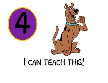 Scooby Doo   Learning Scale