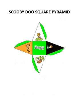 Scooby Doo Square Pyramid