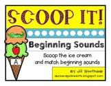 Scoop It! {Beginning Sounds}