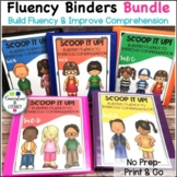 Scoop It Up!  Fluency Intervention Binder Bundle