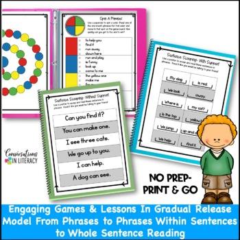 Scoop It Up!  Fluency Intervention Binder Set A