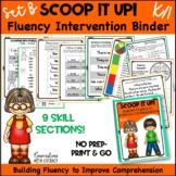 Reading Interventions Fluency Passages Intervention Binder