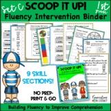 Reading Interventions Fluency Passages Intervention Binder: Scoop It Up! Set C