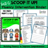 Scoop It Up!  Fluency Intervention Binder Set C