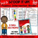 Scoop It Up!  Fluency Intervention Binder Set D
