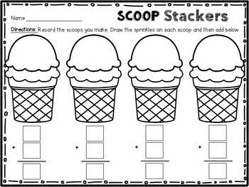 Scoop Stackers - addition game