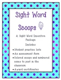 "Scoop Words: A ""Cool"" Motivational Sight Word Packet"