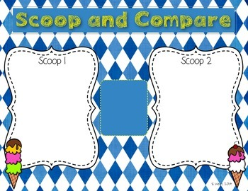 Scoop and Compare Math Money Center {FREEBIE}