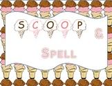 Scoop and Spell (Word Work, Spelling Work)