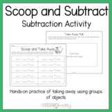 Scoop and Subtract: Taking Away Subtraction Activity