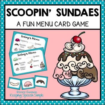 Scoopin' Sundaes  - A Fun Card Game