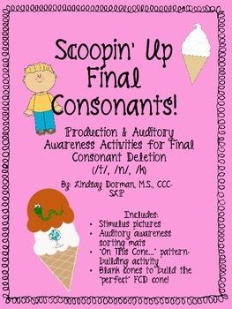 Scoopin' Up Final Consonants!