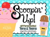 Scoopin' Up - Making Ten & Teens - CCSS DIFFERENTIATED Mat