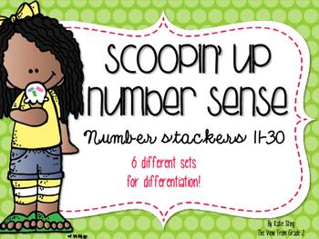 Scoopin' Up Number Sense