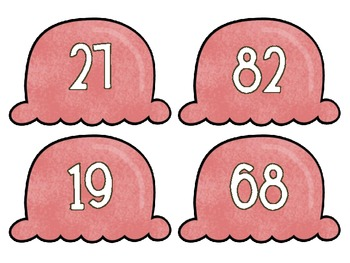 Scoopin' Up Numbers {an odd and even sort}