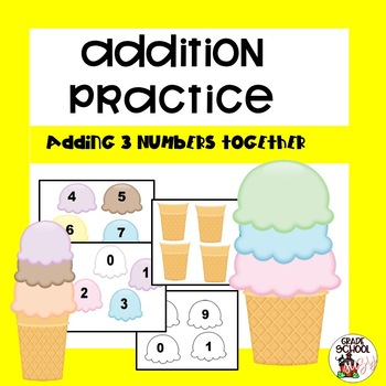 Scooping Up Addition