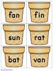 Scooping Up CVC Words - Literacy Center