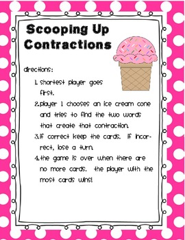 Scooping Up Contractions