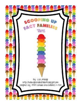 Scooping Up Fact Families