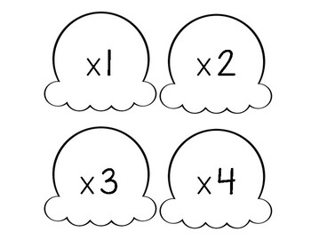 Scooping Up Multiplication Facts